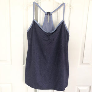 Lucy String Racerback Workout Tank Size XL